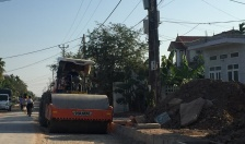Dự án đường phòng chống lụt bão Tiên Lãng:  Hoàn thành chi trả tiền bồi thường tới 221 hộ dân xã Đông Hưng