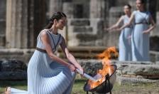 Olympic Tokyo 2020: Lễ thắp đuốc tại Đền Hero cổ ở Hy Lạp