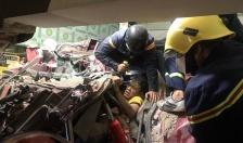 Phòng Cảnh sát PCCC và cứu nạn, cứu hộ: Phối hợp cứu người bị mắc kẹt trong buồng lái container