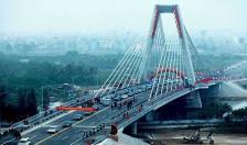 Hoàn thành tuyến đê bê tông Khu đô thị cầu Rào 2
