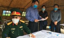 Cần phải kết nối thông tin giữa chốt kiểm tra y tế của huyện với các chốt của xã, làng, xóm về người từ tỉnh ngoài đến địa bàn