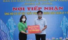 Ủy ban MTTQ VN quận Lê Chân: Tiếp nhận ủng hộ của các tổ chức, cá nhân trong phòng, chống dịch Covid 19