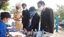 Các chốt kiểm dịch trên địa bàn huyện An Dương Kiểm tra 33.510 người, gần 3.100 phương tiện