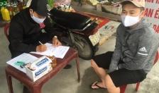 Thị trấn Vĩnh Bảo (Vĩnh Bảo):  Xử phạt gần 20 trường hợp không đeo khẩu trang khi ra ngoài đường
