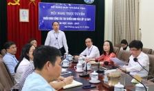 Ngành GD-ĐT Hải Phòng: Hội nghị trực tuyến triển khai công tác thi tuyển sinh vào lớp 10 THPT năm học 2020-2021