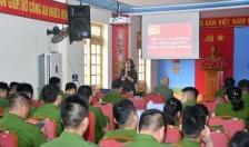 PHÒNG CẢNH SÁT HÌNH SỰ: Tuyên truyền tư tưởng, đạo đức, phong cách Hồ Chí Minh cho cán bộ, chiến sỹ