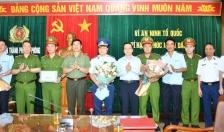 UBND TP khen thưởng các tập thể lập công xuất sắc trong đấu tranh với ổ nhóm buôn lậu quặng đồng qua Cảng Hải Phòng