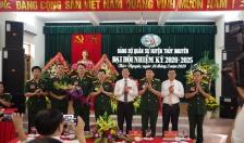 Đại hội Đảng bộ Quân sự huyện Thủy Nguyên, nhiệm kỳ 2020-2025
