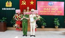 Thượng tá Lưu Văn Đông được bổ nhiệm lại chức vụ Phó Trưởng Phòng PC01