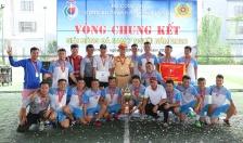 Giải bóng đá nam CATP: Đội bóng Phòng PC08 lên ngôi vô địch