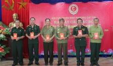 """Hội CCB phường Cát Dài (Lê Chân):  Ra mắt Câu lạc bộ """"Cựu chiến binh làm kinh tế"""""""