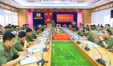Bộ Công an kiểm tra công tác 6 tháng đầu năm 2020 tại Công an Quảng Ninh