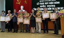 Quận ủy Đồ Sơn: Trao huy hiệu Đảng tặng 16 đảng viên