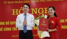 Đồng chí Phạm Thị Sen Quỳnh giữ chức Phó Giám đốc Sở KH-CN