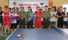 Giải bóng bàn Phòng Tham mưu – CATP: Cặp đôi Nguyễn Đăng Trung và Phạm Ngọc Duy xuất sắc giành giải Nhất