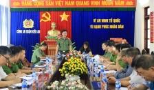Khảo sát công tác quản lý, xây dựng lực lượng Bảo vệ dân phố tại quận Kiến An