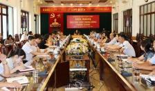 Tập trung tuyên truyền đại hội Đảng và 90 năm truyền thống ngành Tuyên giáo