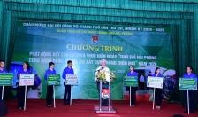 """Phát động cao điểm """"Tuổi trẻ Hải Phòng cùng hành động chung tay xây dựng nông thôn mới"""" năm 2020"""