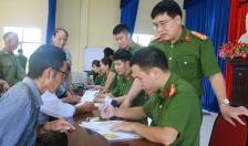 Phòng PC06 & CAH An Dương: Cấp CCCD lưu động 103 đối tượng chính sách xã Quốc Tuấn