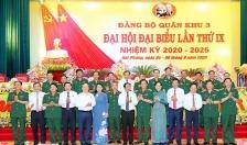 Đại hội đại biểu Đảng bộ Quân khu Ba lần thứ IX, nhiệm kỳ 2020-2025 thành công tốt đẹp