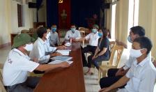 Giám sát công tác phòng, chống dịch bệnh COVID-19 tại huyện Vĩnh Bảo