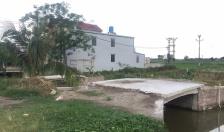 Huyện Tiên Lãng Gần 40 trường hợp vi phạm xây cầu qua kênh thủy lợi