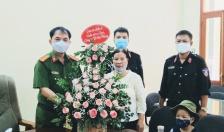Nhân dân gửi thư cảm ơn CBCS Tiểu đoàn Cảnh sát Cơ động