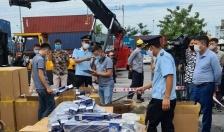 Hải quan Hải Phòng:  Phát hiện 2.060 kiện hàng thuốc lá giả nhãn hiện 555