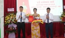 Thành lập Chi bộ trường Tiểu học - Trung học cơ sở Việt - Anh