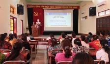 Hội LHPN quận Đồ Sơn: Tập huấn nghiệp vụ công tác Hội phụ nữ năm 2020