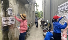 Tuổi trẻ phường Hùng Vương (Hồng Bàng): Xung kích xây dựng đô thị văn minh