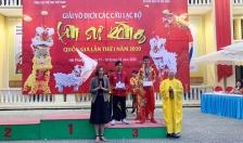 Thành công từ giải Lân sư rồng toàn quốc lần đầu tiên được tổ chức