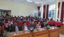 260 học viên tham gia lớp tập huấn bồi dưỡng các văn bản pháp luật mới ban hành trong lĩnh vực văn hóa, gia đình và thể thao