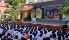 Trường Tiểu học Đinh Tiên Hoàng: Tuyên truyền kiến thức phòng, chống cháy, nổ cho trên 1.200 giáo viên, học sinh