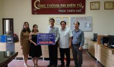 BHXH TP Hải Phòng ủng hộ đồng bào miền Trung