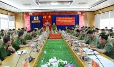 Thứ trưởng Bộ Công an Lê Quốc Hùng làm việc tại Công an tỉnh Quảng Ninh