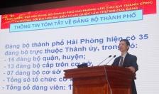 Huyện ủy Vĩnh Bảo: Thông tin kết quả Đại hội thành phố lần thứ XVI tới hơn 550 đảng viên