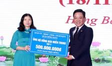 Quận Hồng Bàng ủng hộ 2 tỷ đồng giúp đồng bào miền Trung  khắc phục hậu quả bão lụt