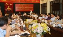 Đoàn khảo sát Trung ương làm việc tại Hải Phòng về công tác kiểm tra, giám sát, thi hành kỷ luật của Đảng