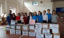 Ngành Giáo dục và Đào tạo Hải Phòng: Chung tay ủng hộ trẻ em miền Trung tiếp tục đến trường