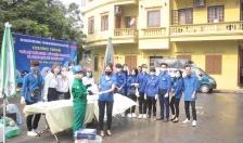 Đoàn phường Thượng Lý (Hồng Bàng): Phong phú các hoạt động phòng chống dịch Covid – 19