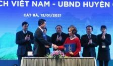 """Diễn đàn """"Lữ hành Việt Nam 2021 - Giải pháp khôi phục và phát triển""""  - Tăng cường quan hệ hợp tác, thúc đẩy phát triển du lịch"""