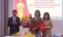 Đảng ủy phường Vĩnh Niệm, Lê Chân: Thành lập Chi bộ công ty TNHH MTV Thương mại  và Dịch vụ tin học Lâm Hiếu