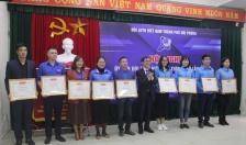 Hội Liên hiệp Thanh niên Việt Nam thành phố: Biểu dương 54 tập thể, cá nhân có thành tích xuất sắc trong công tác Hội, phong trào thanh niên