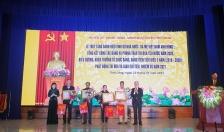 Huyện Tiên Lãng Biểu dương 12 tổ chức Đảng, 138 đảng viên tiểu biểu hoàn thành xuất sắc nhiệm vụ