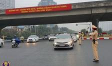 Tiếp tục triển khai các phương án bảo đảm trật tự, an toàn giao thông, dẫn đoàn phục vụ Đại hội XIII của Đảng