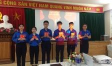 Đoàn phường Thượng Lý (Hồng Bàng): Kết nạp 50 đội viên ưu tú vào tổ chức Đoàn