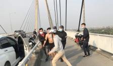 Công an phường Thượng Lý phối hợp giải cứu thành công người tự tử tại cầu Bính