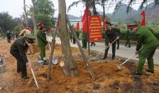 """Công an tỉnh Quảng Ninh phát động Tết trồng cây """"Đời đời nhớ ơn Bác Hồ"""" Xuân Tân Sửu năm 2021"""