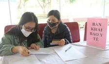 Huyện An Dương xử phạt trường hợp không khai báo y tế 10.000.000 đồng